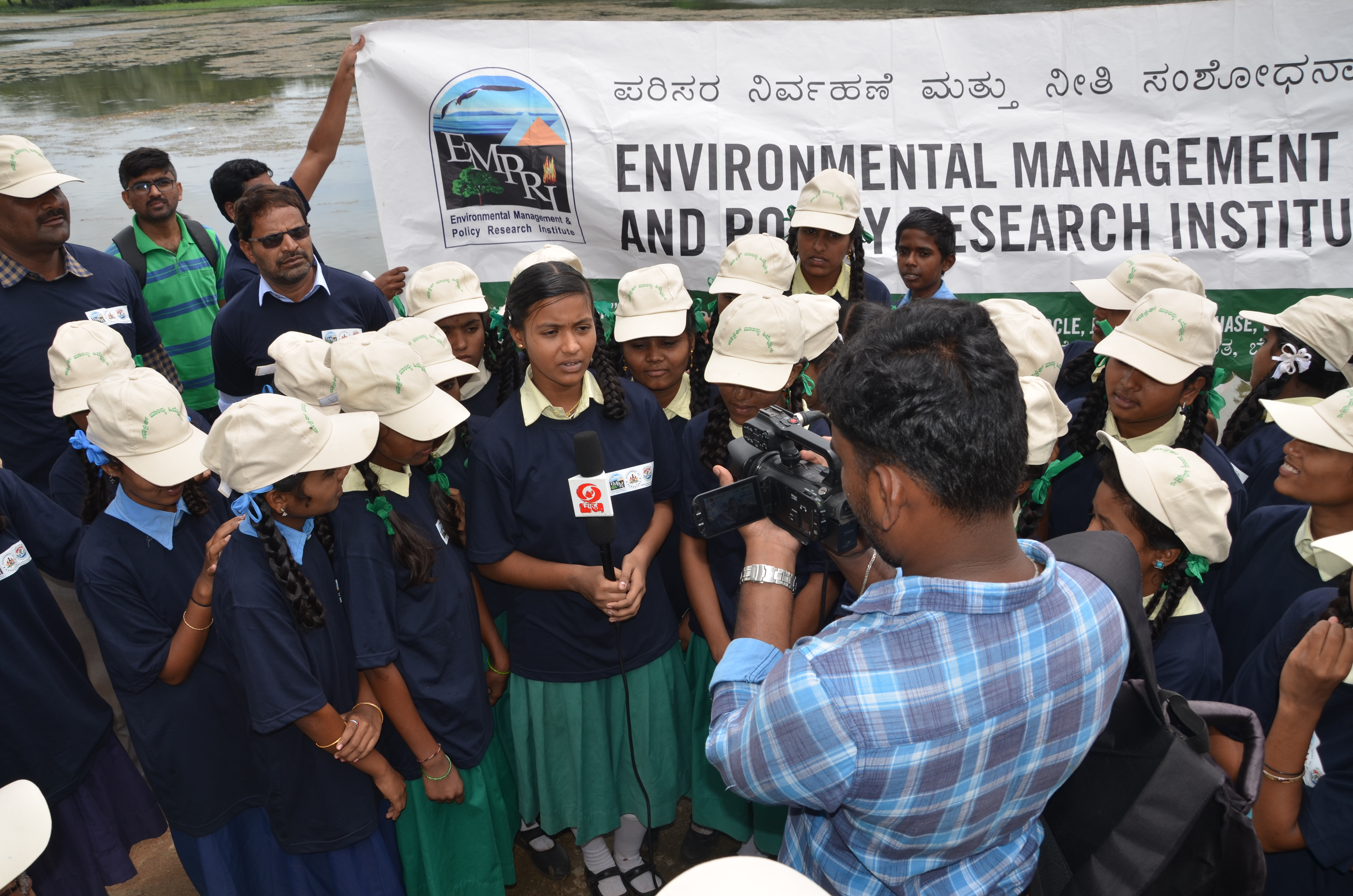 River Cleaning at Nanjanagud